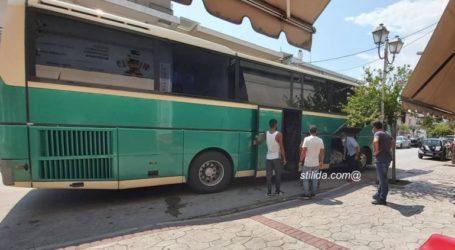 Στυλίδα: Ρομά απείλησαν οδηγό ΚΤΕΛ