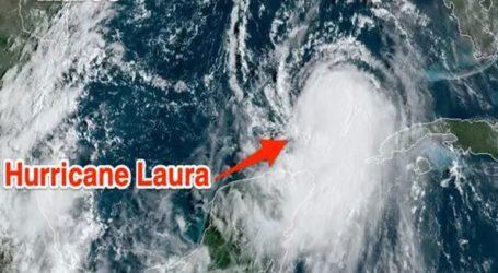 Η τροπική καταιγίδα Λόρα ενισχύθηκε σε κυκλώνα κατηγορίας 3