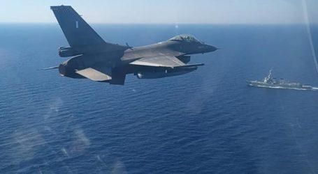 Εντυπωσιακές εικόνες από την κοινή αεροναυτική άσκηση Ελλάδας-ΗΠΑ νότια της Κρήτης