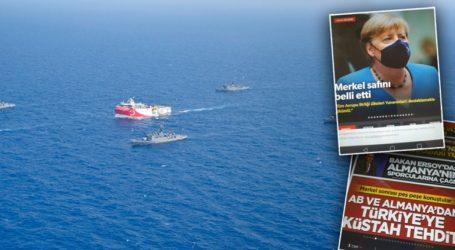 Έξαλλα τα τουρκικά ΜΜΕ με την Άγκελα Μέρκελ
