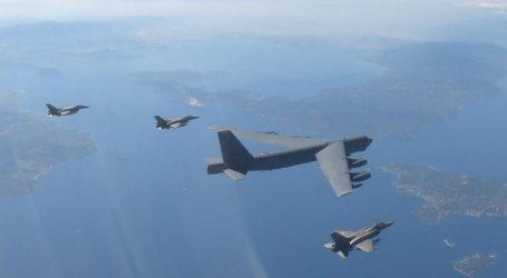 Παρενόχλησαν ελληνικά F-16 που συνόδευαν αμερικανικό βομβαρδιστικό Β-52