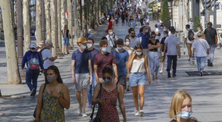Η Γαλλία ανακοίνωσε σήμερα 5.453 νέα επιβεβαιωμένα κρούσματα Covid-19