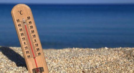 Κοντά στους 38 βαθμούς η μέγιστη θερμοκρασία το Σάββατο