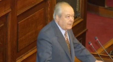 Πέθανε ο πρώην υπουργός και βουλευτής της ΝΔ Νίκος Γκελεστάθης