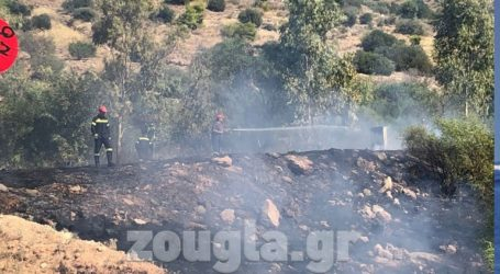 Πυρκαγιά ξέσπασε νωρίτερα στη Γλυφάδα