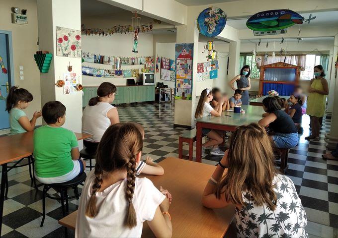 Πρόγραμμα Αγωγής Υγείας από την 4η ΤΟΜΥ Αμπελοκήπων στην κατασκήνωση στην πόλη