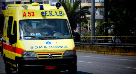 ΤΩΡΑ: Σοβαρό τροχαίο ατύχημα στον Αλμυρό