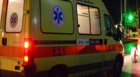 ΤΩΡΑ: Τροχαίο ατύχημα στον Βόλο – Τραυματίστηκε 17χρονος