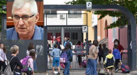 Λάρισα – Κορωνοϊός: Ο Κωνσταντίνος Γιαννακόπουλος για το πως θα πρέπει να ανοίξουν τα σχολεία