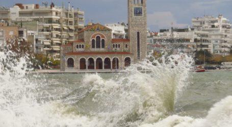 Λιμεναρχείο Βόλου: Έρχονται καταιγίδες και χαλάζι