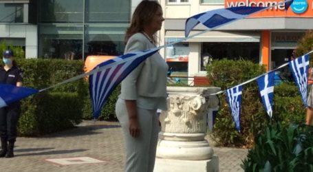 Στον Αλμυρό η βουλευτής  Κατερίνα Παπανάτσιου για την 139η επέτειο απελευθέρωσης της πόλης