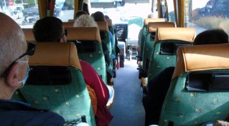 Έφοδος της αστυνομίας στο ΚΤΕΛ Τρικάλων στη Λάρισα για υπεράριθμο λεωφορείο και μη χρήση μασκών – Έπεσαν «καμπάνες»
