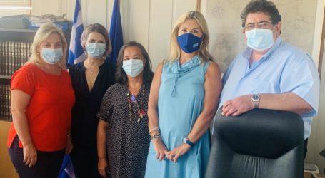 Επίσκεψη και εποικοδομητική συνεργασία της Ζέττας Μακρή με τον νέο Διευθυντή Δευτεροβάθμιας Εκπαίδευσης Ν. Μαγνησίας
