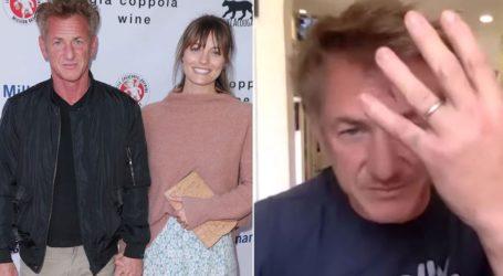 O Sean Penn μόλις επιβεβαίωσε τον γάμο του με την 28χρονη αγαπημένη του, Leila George