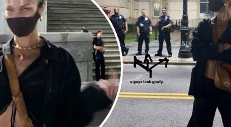 Ο εκνευρισμός της Bella Hadid με αστυνομικούς που δεν φορούσαν μάσκες πρoστασίας