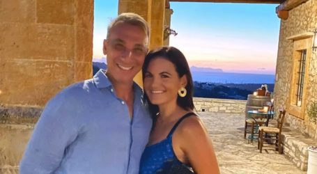 Όλγα Κεφαλογιάννη: Διακοπές στην Κρήτη μαζί με τον Μίνωα Μάτσα