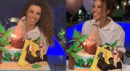 Ειρήνη Παπαδοπούλου: Η τούρτα – υπερπαραγωγή για τα 35α γενέθλιά της