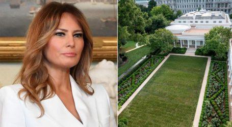 Το Twitter τρολάρει τη Melania Trump για την ανακαίνιση στον διάσημο κήπο των Ρόδων του Λευκού Οίκου