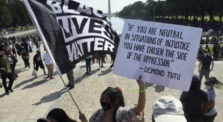 Χιλιάδες διαδηλωτές κατά του ρατσισμού στην Ουάσινγκτον