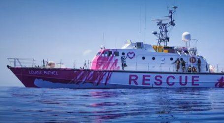 O Βρετανός καλλιτέχνης Bansky χρηματοδoτεί πλοίο για τη διάσωση μεταναστών στη Μεσόγειο