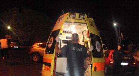 Φάρσαλα: Σοβαρά τραυματίας 35χρονος μετά από τροχαίο με μηχανάκι
