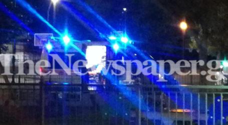 Τώρα: Ασθενοφόρο και περιπολικό της αστυνομίας στο Ελικοδρόμιο της Νέας Ιωνίας [εικόνες]