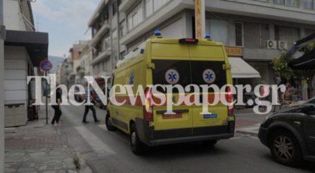 52χρονος κατέρρευσε στο κέντρο του Βόλου και μεταφέρθηκε στο Νοσοκομείο