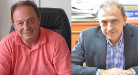 Δήμος Λαρισαίων: Σε κατ' οίκον περιορισμό Δεληγιάννης και Βούλγαρης ενόψει εξετάσεων για κορωνοϊό