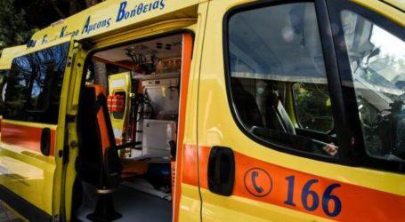 Τροχαίο με τραυματισμό στη Λάρισα – 40χρονος μεταφέρθηκε στο Γενικό Νοσοκομείο