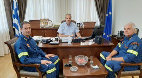 Συνάντηση του Διοικητή της 8ης ΕΜΑΚ με το δήμαρχο Ελασσόνας