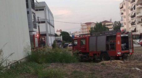 Λάρισα: Φωτιά σε αποθήκη καταστήματος με κλιματιστικά – δείτε φωτογραφίες