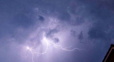Επιδείνωση καιρού: Δελτίο επικίνδυνων καιρικών φαινομένων από την Περιφέρεια Θεσσαλίας