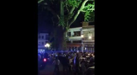 Λάρισα: Σε αυτό το χωριό ο κόσμος δεν έλεγε να φύγει από την πλατεία – Κόσμος, φωνές και διασκέδαση μετά τα μεσάνυχτα (βίντεο)