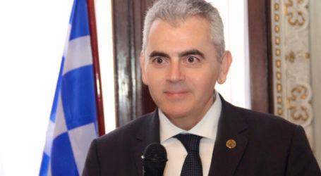 Χαρακόπουλος για συμφωνία Ελλάδος-Αιγύπτου: Αποστομωτική απάντηση στον τουρκικό αναθεωρητισμό