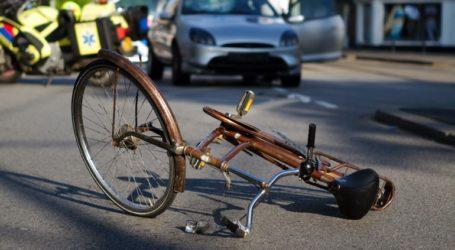 Ηλικιωμένος ποδηλάτης τραυματίστηκε σε τροχαίο  στο κέντρο του Βόλου