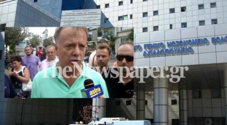 Επίσκεψη αντιπροσωπείας του ΚΚΕ στο Νοσοκομείο Βόλου: «Επιστρατεύει το «φιλότιμο»για να κρύψει τις δικές της ευθύνες»