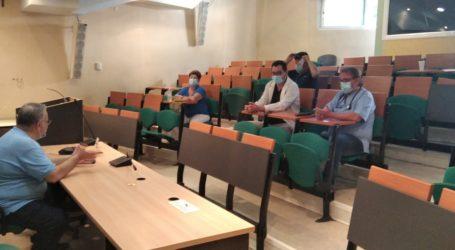 Επίσκεψη Λαμπρούλη στο Γενικό Νοσοκομείο Λάρισας