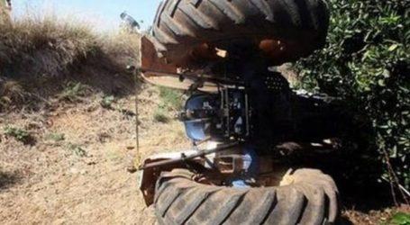 Λάρισα: Τραγωδία με αγρότη του οποίου το τρακτέρ ανετράπη
