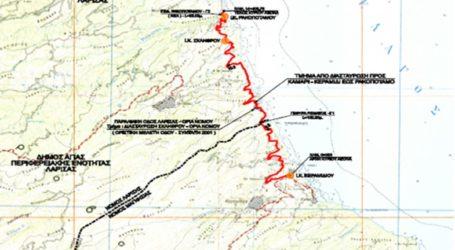 Υπογράφηκε η σύμβαση για την κατασκευή του παραλιακού άξονα Θεσσαλίας Κεραμίδι – Ρακοπόταμος