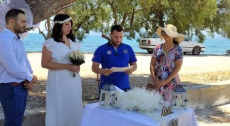 12 γάμοι σε μία εβδομάδα στον Δήμο Βόλου – Καπουρνιώτης: Δεν προλαβαίνουμε να κλείνουμε ημερομηνίες [εικόνες]