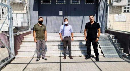 Ο Αλ. Μεϊκόπουλος σε δομές του Βόλου – Επισκέφθηκε «Μόζα» και Φυλακές