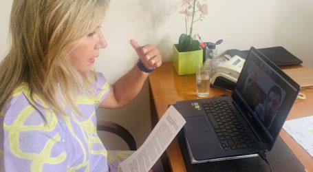 Ζέττα Μακρή σε διαδικτυακή συνάντηση με την Ένωση Στρατιωτικών της Π. Ε. Βόλου – Μαγνησίας