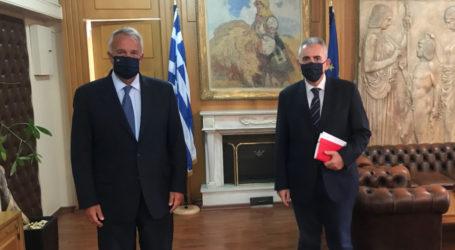 Χαρακόπουλος με Βορίδη: Αγώνας για καταβολή των ΠΣΕΑ 2017 φέτος…