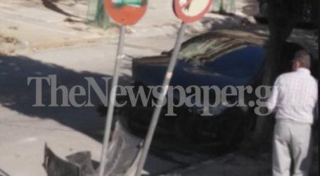 ΤΩΡΑ: Τροχαίο ατύχημα στο κέντρο του Βόλου [εικόνα]