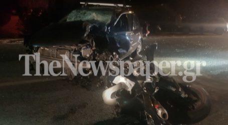Βόλος: Σοκαριστικό τροχαίο με νεκρό οδηγό μηχανής – Δείτε εικόνες και βίντεο