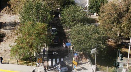 Βόλος: Δείτε την ανάπλαση της οδού Καραμπατζάκη από ψηλά! [βίντεο]