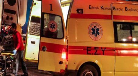 ΤΩΡΑ: Στο Νοσοκομείο Βόλου 46χρονος οδηγός φορτηγού