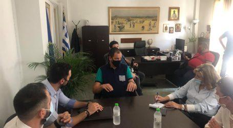 Περιοδεία και διπλή παρέμβαση Λιακούλη στη Βουλή για καταστροφές σε Φάρσαλα και Καρδίτσα