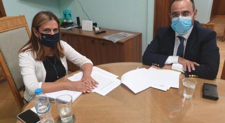 Συνεργασία του βουλευτή Κων. Μαραβέγια με την Υφυπουργό και τον Γενικό Γραμματέα του Υπουργείου Υγείας
