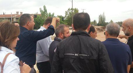 Κλιμάκιο του ΣΥΡΙΖΑ στον Αλμυρό – Αυτοψία στις καταστροφές
